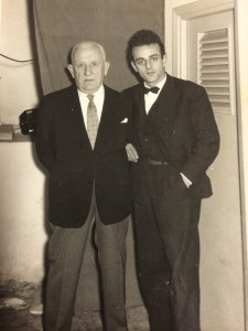 Salvatore Li Vigni with Mario Basiola